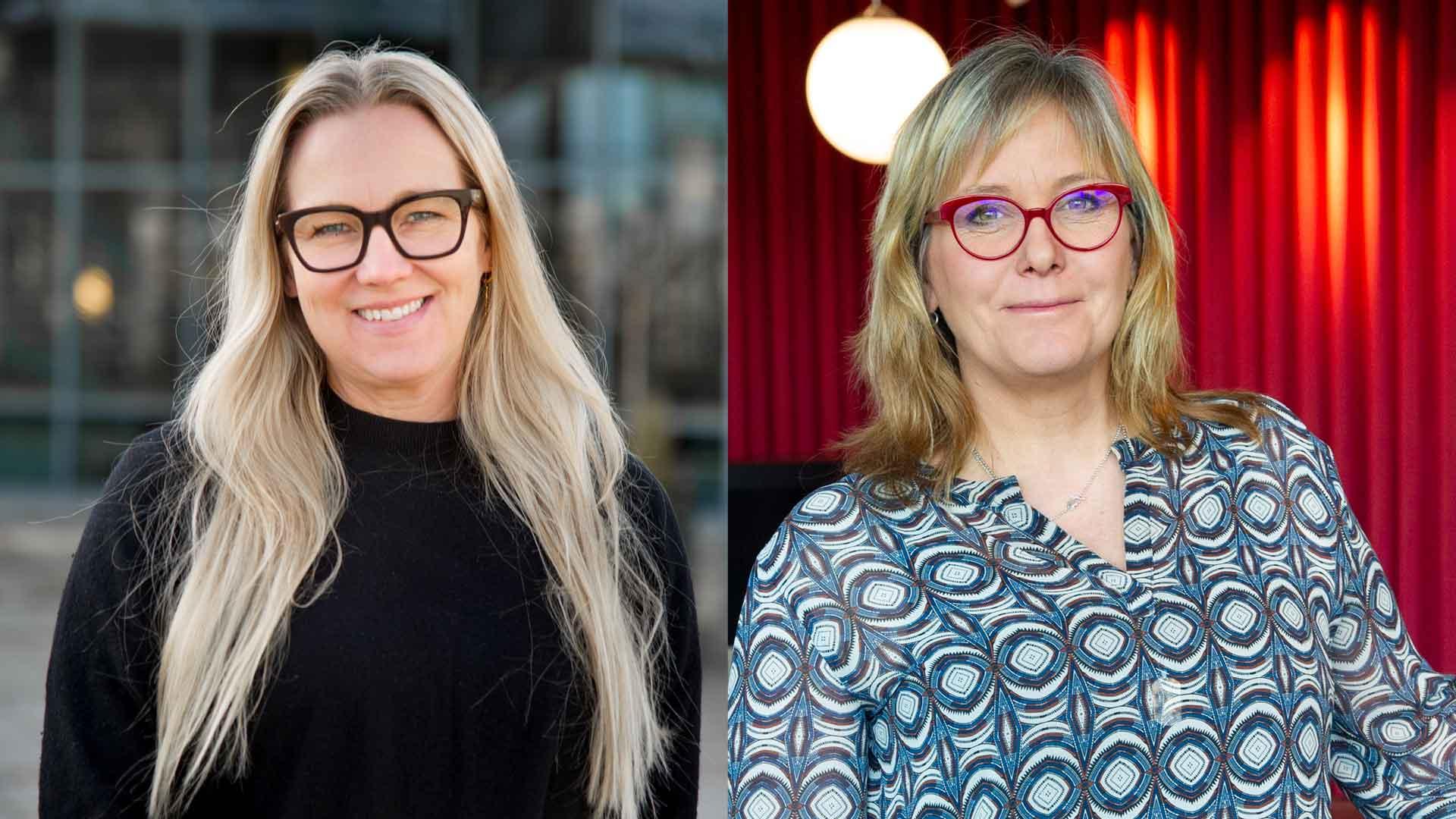Sara Törn och Ewa Woldenius